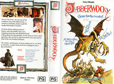 JABBERWOCKY-Michael Palin-A Terry Gilliam film-VHS-NEW-PAL-Never played!-RARE!!