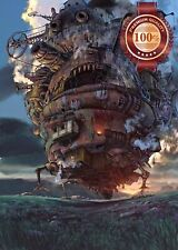 90x60CM HOWLS MOVING CASTLE STUDIO GHIBLI WALL ART PICTURE PRINT PREMIUM POSTER