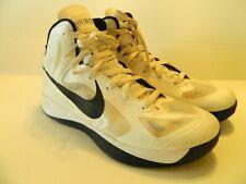 NIKE HYPERFUSE TB 2012 Shoes White/Black SZ 11.5 ~ 12 525019-100 hyperdunk