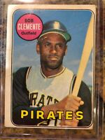 1969 Topps #50 Roberto Clemente MT Pittsburgh Pirates