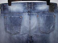 Diesel Safado Slim Fit Coupe Droite Jeans Blue eyecons 0827 V W36 L30 (0024)