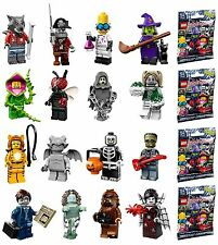 LEGO 71010 MINIFIGURES Series 14 COMPLETE SET of 16 figures with unused code