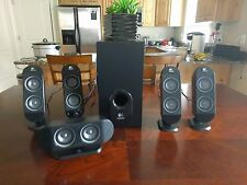 Logitech X-530 Computer Speakers - Used - Excellent Condition.
