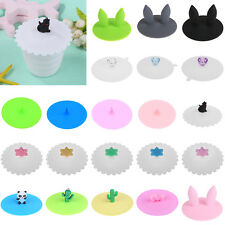 Silicone Lid Cup Cover Coffee Mug Tea Cup Porcelain Cup Lids