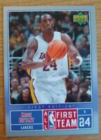 Kobe Bryant 🏀 🌟 2007-08 Upper Deck First Edition All NBA First Team #NBA5