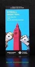 Mol TFL Londres 2012 Jeux Olympiques Promenade Green Trail Guide Wenlock Mandeville mascotte