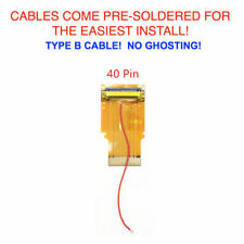 Nintendo Game Boy Advance Cable Backlight Backlit Adapter AGS 101 40 PIN TYPE B
