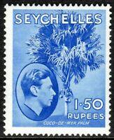 Seychelles1938 ultramarine 1r.50c  multi-script mint SG147