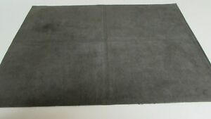 "Suede Placemats Lot of 10  Grey Green Very Good Condition  13"" by 18""."