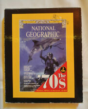 National Geographic The 70s on 3 Cd-Roms Windows/Mac Magazine back issues