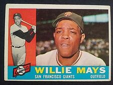 1960 Topps Willie Mays #200, San Francisco Giants, SF, EX