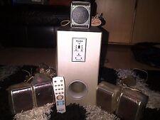 Alba SPKRKIT559 5.1 Speaker System + remote control