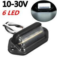 10-30V LED Feux Eclairage plaque d'immatriculation Bateau Remorque Camion Auto