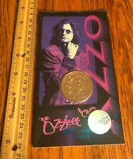 Ozzy Osbourne/ Coin/ 1998/ Sealed/ Ozz Fest/ Monowise/ Liberty Mint/ Unopened!