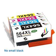 4PK New Ink Cartridge 564XL 564 Black Color Set For HP PhotoSmart 5520 5510 5514