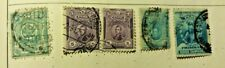 old stamps PERU   x 5