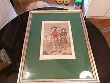 1790 Golf Painting By S.F.Abbott