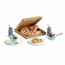 American Girl 2018 Pretend PIZZA PARTY Food Play Set for Doll FAST SHIP