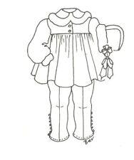 "Coat legging hat sewing Pattern fits 12 13"" Little Darling Kish Betsy dolls 552"