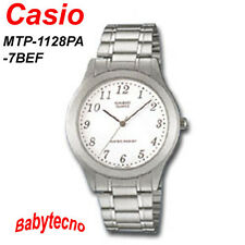 OROLOGIO Casio MTP-1128PA-7BEF Orologi uomo classico bracciale cinturino acciaio