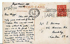 London Posted Collectable Social History Postcards
