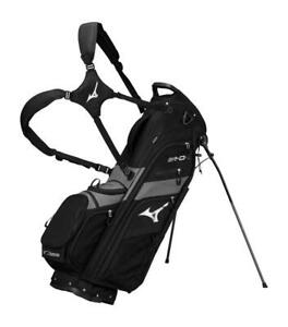 (BACK ORDER JUNE)MIZUNO S19 BR-D4 STAND BAG(6-WAY) Black/ Staff