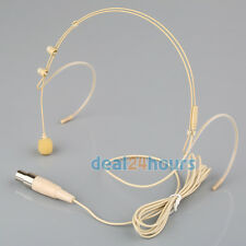 Lavalier Lapel Tie Clip Microphone for Shure Wireless (TA4F) Mini 4pin XLR Plug