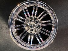 "20"" MENZARI  Z08 Wheels  Chrome finish   20X8.5  5lug 5X115 et 38  Hub 74.1"