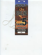 RARE 2007 FLORIDA STATE vs. MARYLAND FOOTBALL NETWORK TV PASS (FSU WON)