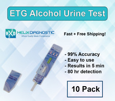 ETG AT HOME DIP TEST (10 Pack) -Alcohol Dip Card Detects 80 hrs - Free Shipping!