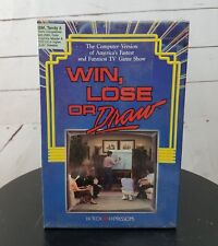 Vintage Win Lose or Draw 1988 Computer Game IBM 3.5 inch Disk