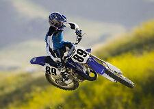 Motocross Motocross Foto Poster Print A4 260gsm