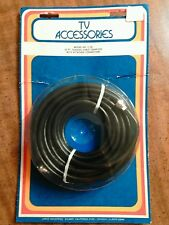 Tv Accessories Model #C-25 Coaxial Cable 25ft Complete w/ Attached Connectors