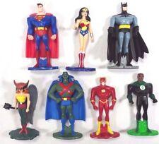 """Justice League DC Mattel Diecast Action Figure Lot of 7 Batman Superman 2.5"""""""