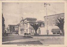 * NETTUNIA (Anzio) - Piazza C.Battisti e Palazzo Comunale (Fot.Berretta) 1940