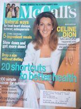 McCall's Magazine Celine Dion 20 Shortuts June 1998 081417nonrh2