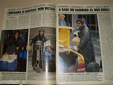 LOREDANA BERTE clipping articolo fotografia foto tratto da rivista anno 1990