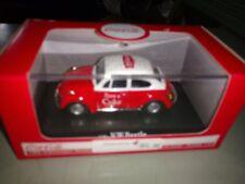 1/43 Motorcity Classics - Red & White Coca Cola 1966 VW Beetle - NIB