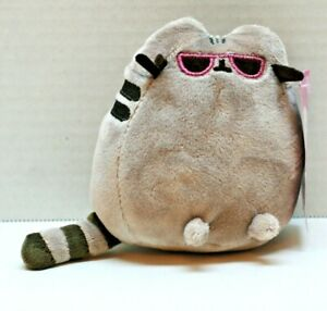 "Pusheen The Cat by Gund Children's Stuffed Mini Plush 4.5"" Toy for Ages 8+  NEW"