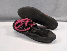 Vtg 5.10 Vertical Friction Loafer Women's Climbing Shoes Black & Pink Size 10?