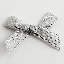 Small 3cm Wide Pre-Tied Mini Bows (6mm Satin Ribbon) Crafts Wedding Card Making