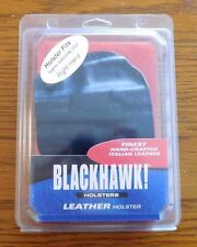 BLACKHAWK Leather Holster w/Mag Pouch Right Hand Sig Pro 2022 / 2340 /420205BK-R