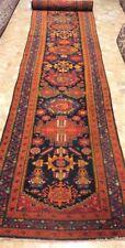 Tappeto malayer antico disegno geometrico  persiano size: 650x98 cm