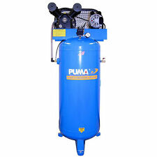Puma 3-HP 60-Gallon (Belt Drive) Single-Stage Air Compressor (208-230V 1-Phase)