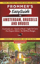 Frommer's EasyGuide to Amsterdam, Brussels and Bruges  *IN STOCK - NEW*