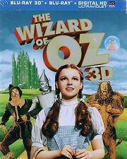 The Wizard of Oz (Blu-ray 3D + Blu-Ray , 2013, 2-Disc Set) Collectible Tin Case