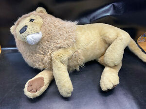 "Douglas Cuddle Toys Titan King Plush Lion 45"" Huge Stuffed Vtg"