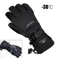 Waterproof Winter Snowmobile Riding Gloves -30 ℃ Snow Motorcycle Ski Mens Glove