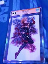 CGC SS 9.8 MARK BROOKS SIGNED CAP MARVEL #1 2019 LOW 500 PRINT RUN BROOKS EXCLUS