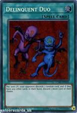 LCKC-EN101 Delinquent Duo Secret Rare 1st Edition Mint YuGiOh Card